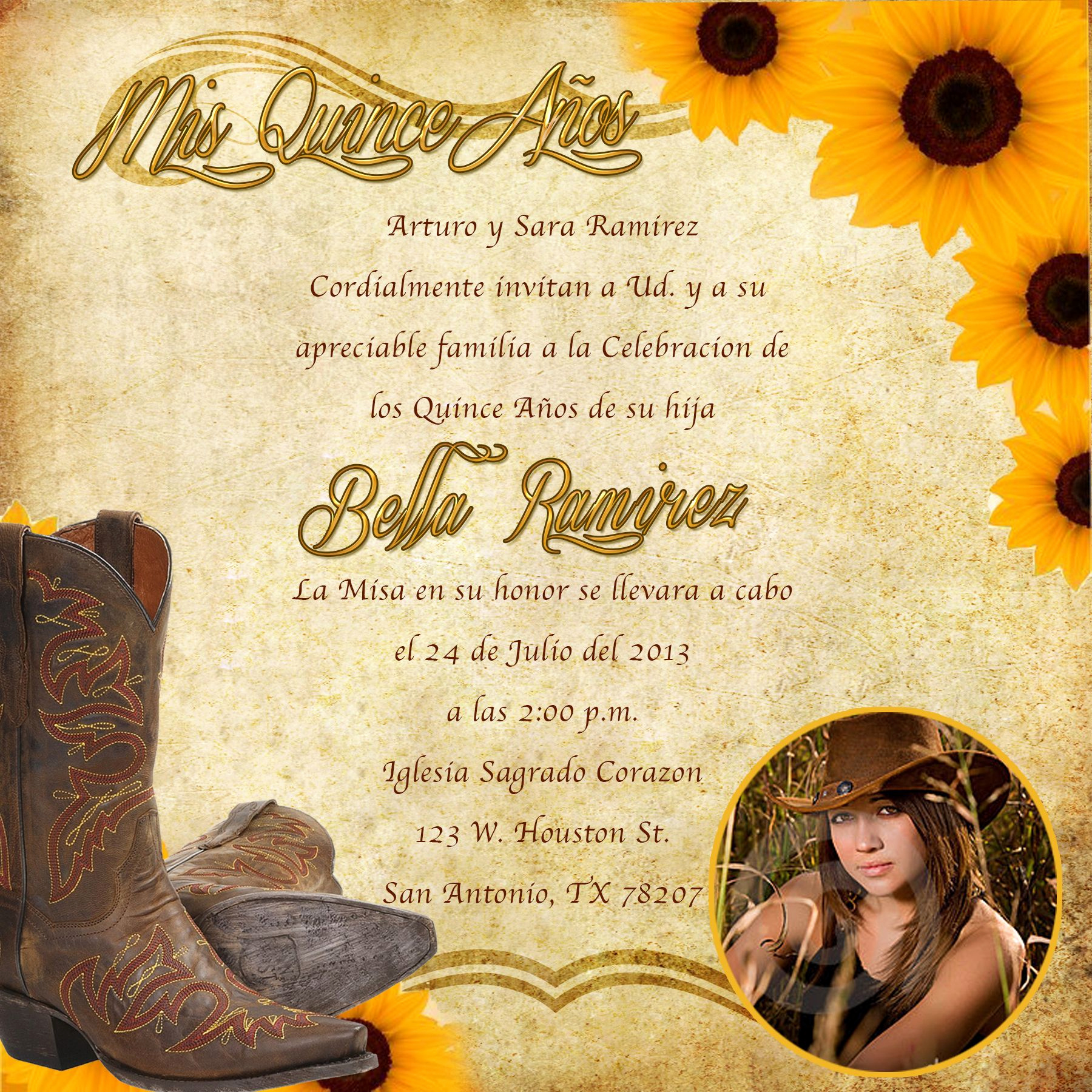 Western theme Invitation Templates New Western Invitations Printable