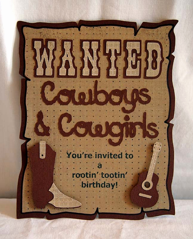Western theme Party Invitation Template Best Of Fishing for Scraps Children S Invitations
