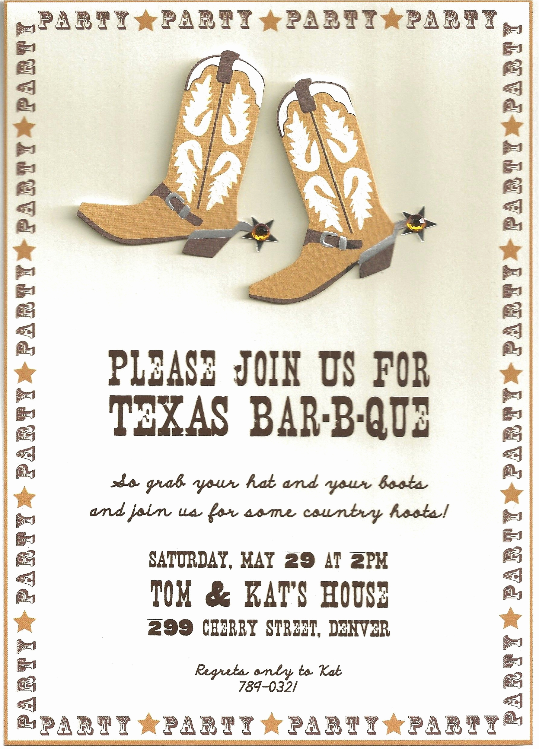 Western theme Party Invitation Template Inspirational Cowboy Party Invitation Wording Invitation Templates