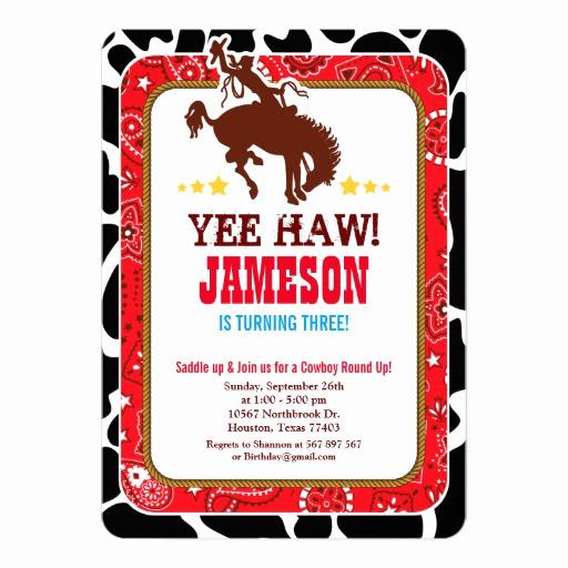 Western theme Party Invitation Template Unique Cowboy Western Old West Birthday Party Invitation
