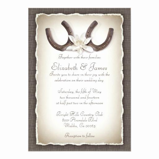 Western themed Invitation Templates Fresh Western Wedding Invitations