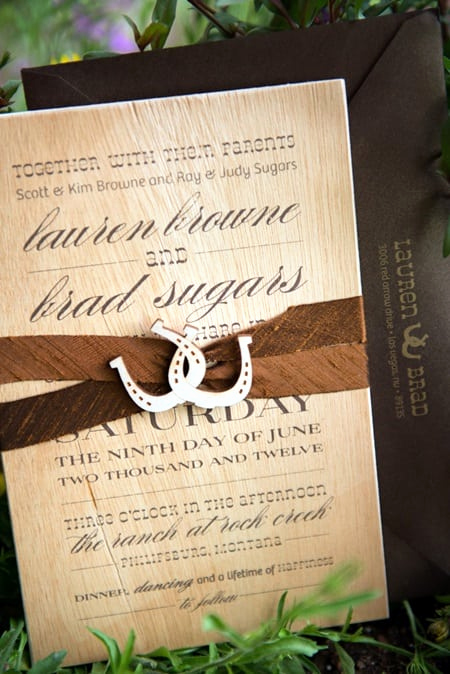 Western themed Invitation Templates Lovely Western Wedding Invitation Printable Template
