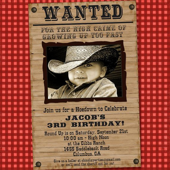Western themed Invitation Templates New Best 25 Cowboy Party Invitations Ideas On Pinterest