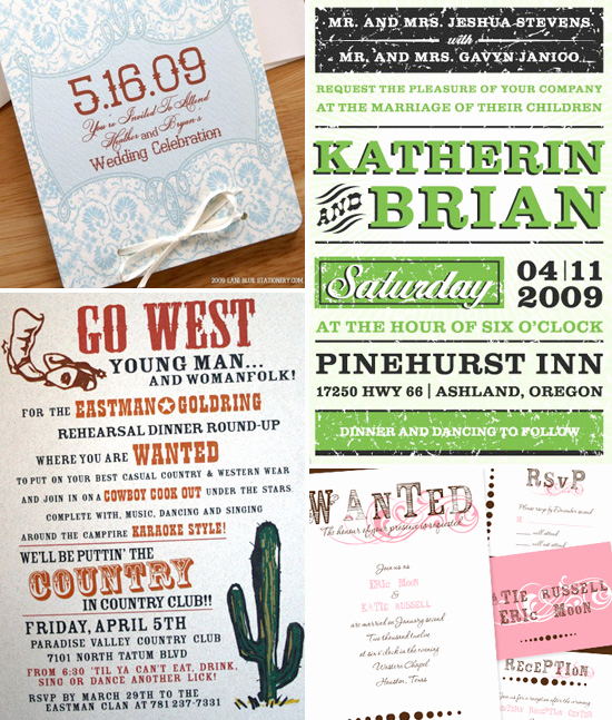 Western themed Invitation Wording Best Of Western themed Wedding Invitations