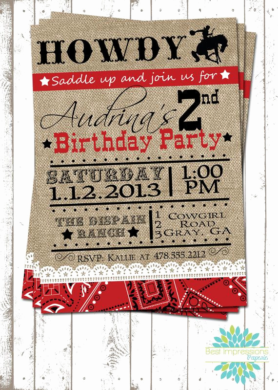 Western themed Invitation Wording Fresh 25 Best Ideas About Cowboy Party Invitations On Pinterest