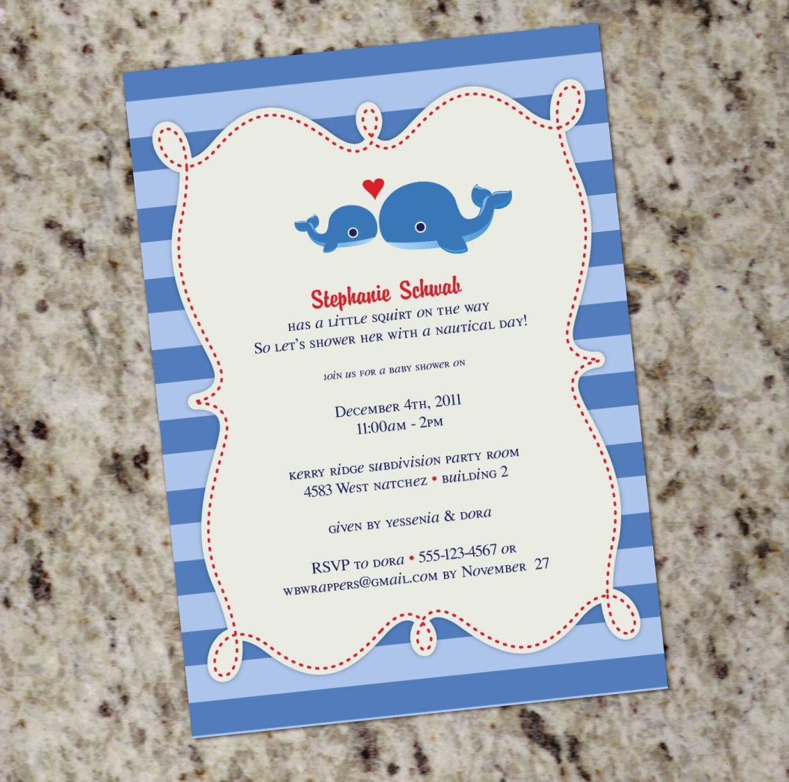 Whale Baby Shower Invitation Best Of Sweet Whale themed Baby Shower or Birthday Invitation