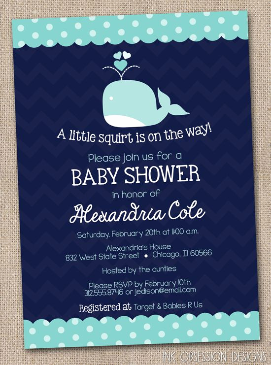 Whale Baby Shower Invitation Best Of Whale Baby Showers Blue Whale and Whales On Pinterest