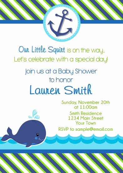 Whale Baby Shower Invitation New Best 25 Whale Baby Showers Ideas On Pinterest