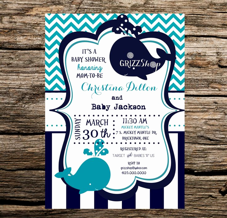 Whale Baby Shower Invitation Template Beautiful Best 25 Whale Baby Showers Ideas On Pinterest