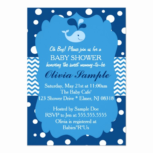 Whale Baby Shower Invitation Template Elegant Whale Baby Shower Invitation Nautical Baby Shower Card