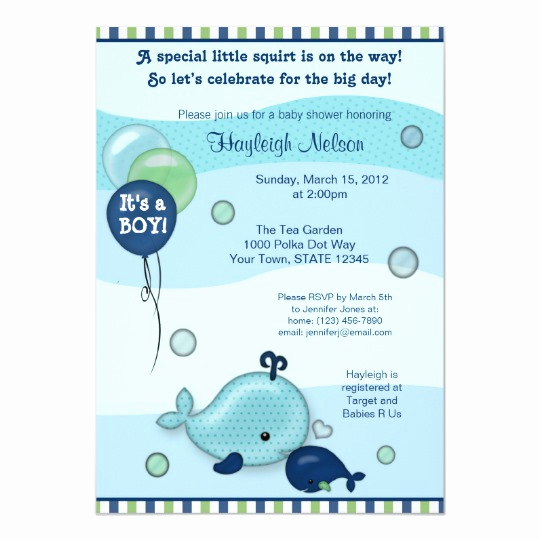 Whale Baby Shower Invitation Template Fresh Little Whale Baby and Mommy Kiss Baby Shower Invitation