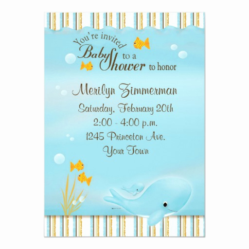 Whale Baby Shower Invitation Template Fresh Whale Of A Great Baby Shower Invitation