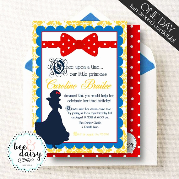 White Party Invitation Ideas Awesome 17 Best Ideas About Snow White Invitations On Pinterest