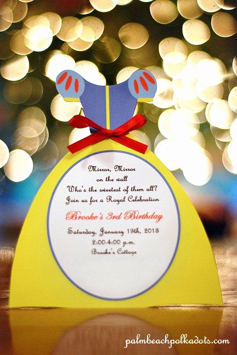 White Party Invitation Ideas Unique 25 Best Ideas About Snow White Invitations On Pinterest