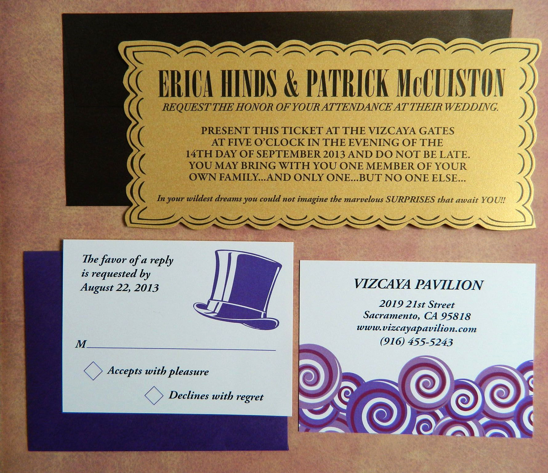 Willy Wonka Golden Ticket Invitation Unique Willy Wonka Golden Ticket Custom Invitations