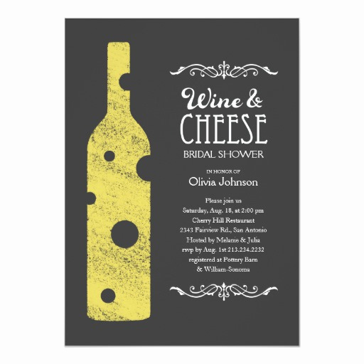 Wine and Cheese Invitation Inspirational Wine and Cheese Bridal Shower Invitations