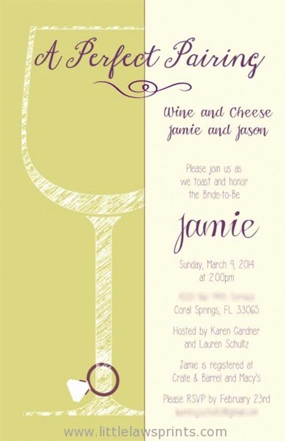 Wine and Cheese Invitation Luxury Sketch Wine and Cheese Invitation