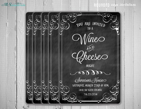 Wine and Cheese Invitation Luxury Wine and Cheese Party Ideas B Lovely events