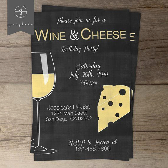 Wine and Cheese Invitation Luxury Wine and Cheese Party Ideas