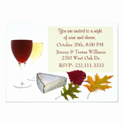 Wine and Cheese Invitation Unique Fall Wine and Cheese Party Invitation