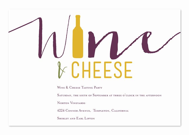 Wine and Cheese Invitation Unique Wine and Cheese Party Invitations by Invitation
