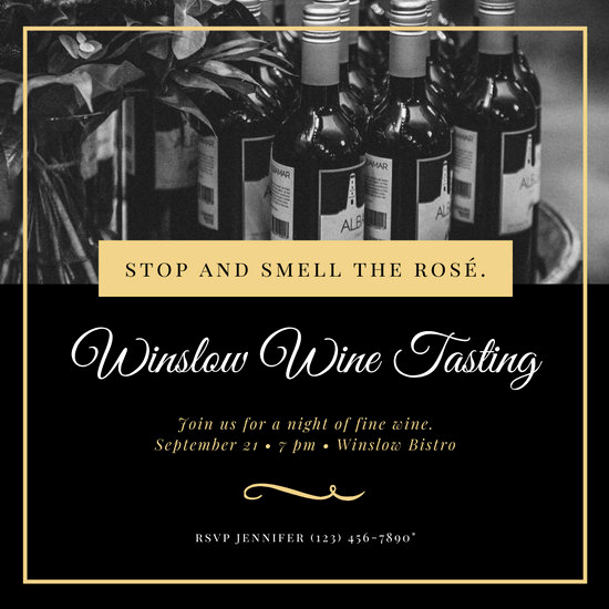 Wine Tasting Invitation Wording Best Of Customize 87 Wine Tasting Invitation Templates Online Canva