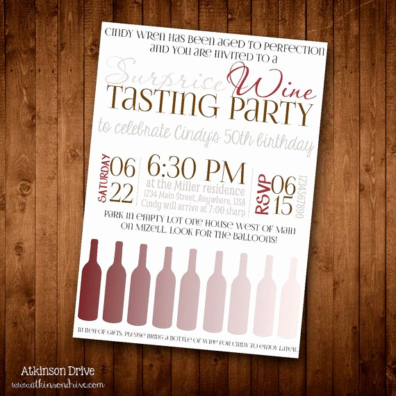 Wine Tasting Invitation Wording Best Of Printable Wine Tasting Party Invitation