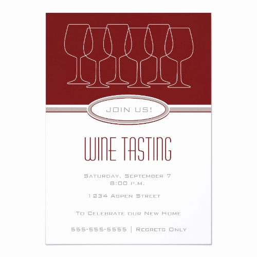 Wine Tasting Invitation Wording Inspirational Wine Tasting Invitations for Parties and Fundraising events