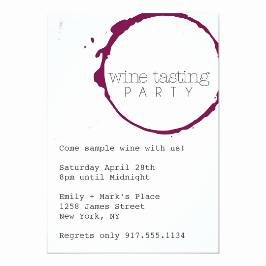 Wine Tasting Invitation Wording Inspirational Wine Tasting Party Invite