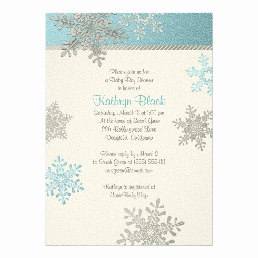 Winter Baby Shower Invitation Awesome Winter Baby Shower Invitations