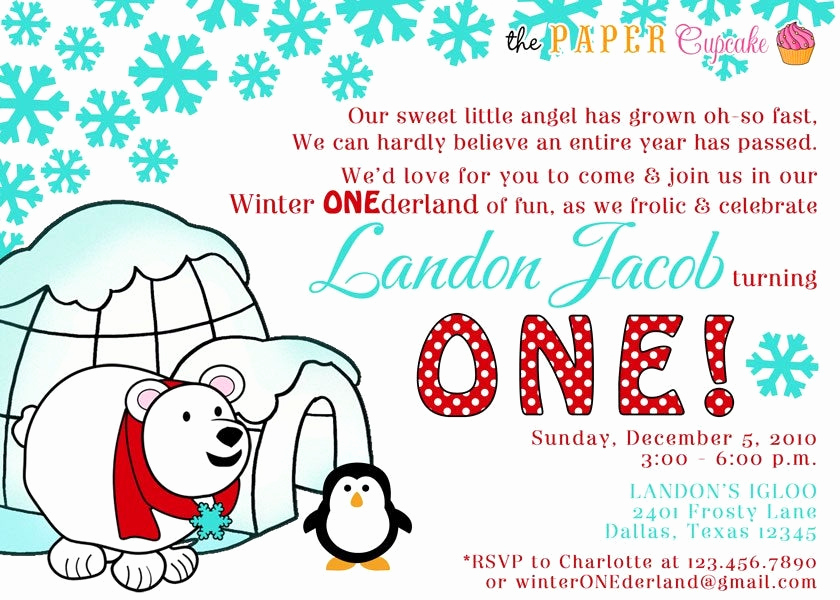 Winter One Derland Invitation Beautiful Printable Invitation Design Winter Onederland Winter