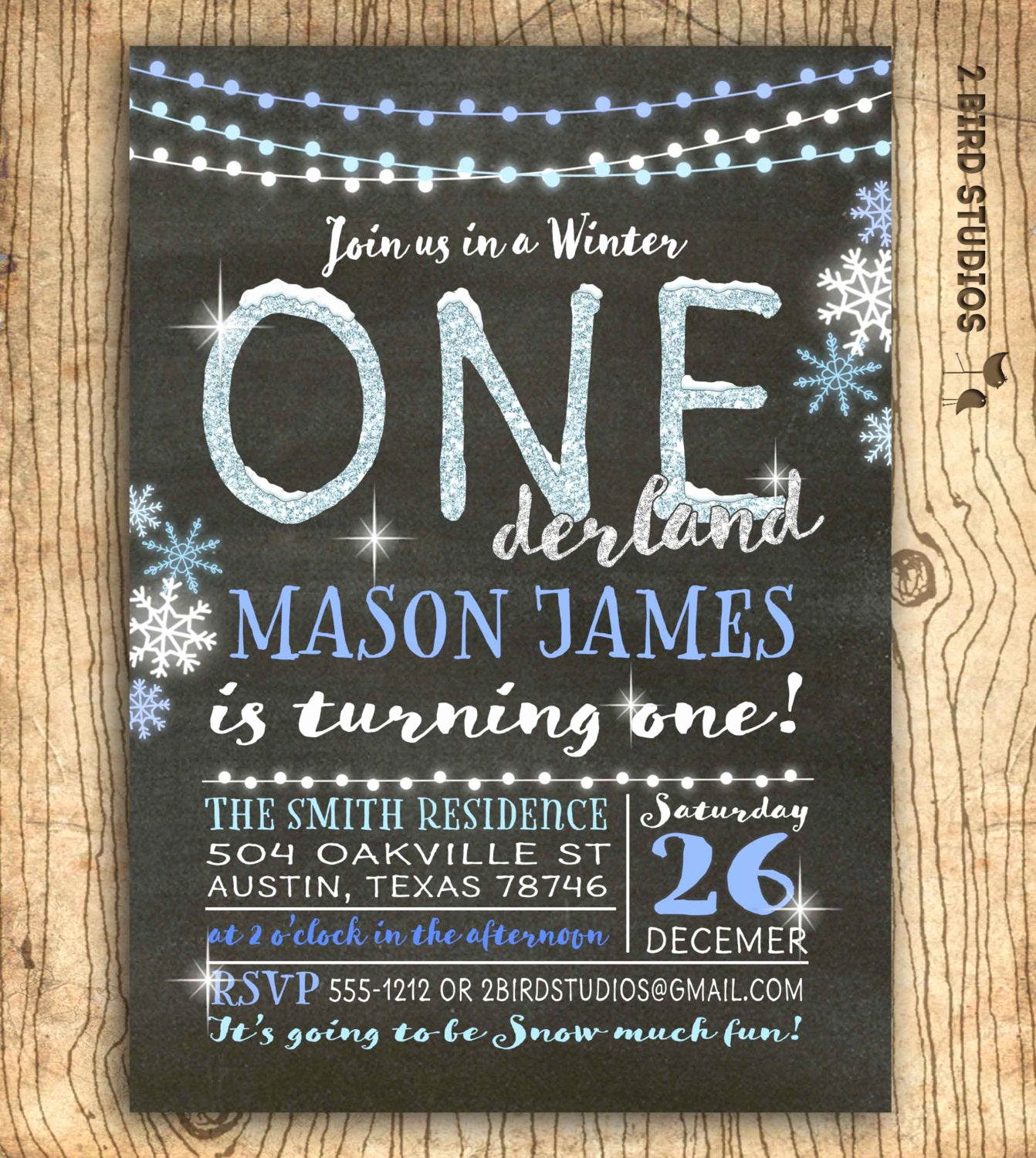 Winter One Derland Invitation Best Of Winter Onederland Invitation Winter Birthday Invitation