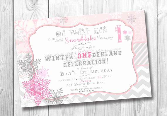 Winter One Derland Invitation Fresh Items Similar to Winter Onederland Birthday Invitation for
