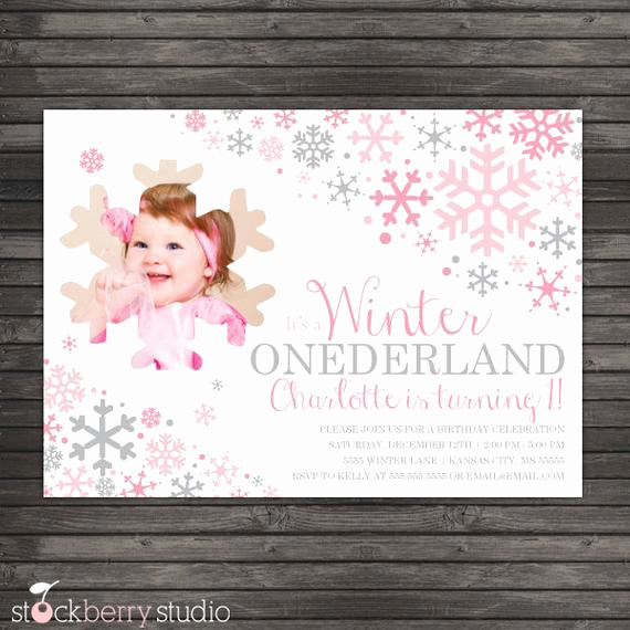 Winter One Derland Invitation Lovely Winter Ederland Winter Wonderland Birthday Winter
