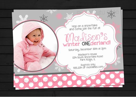 Winter One Derland Invitation Luxury Items Similar to Snowy Winter Onederland 1st Birthday