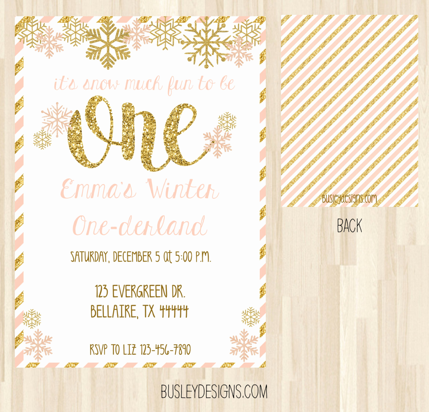 Winter One Derland Invitation Wording Fresh Winter Ederland Invitation Winter Wonderland by