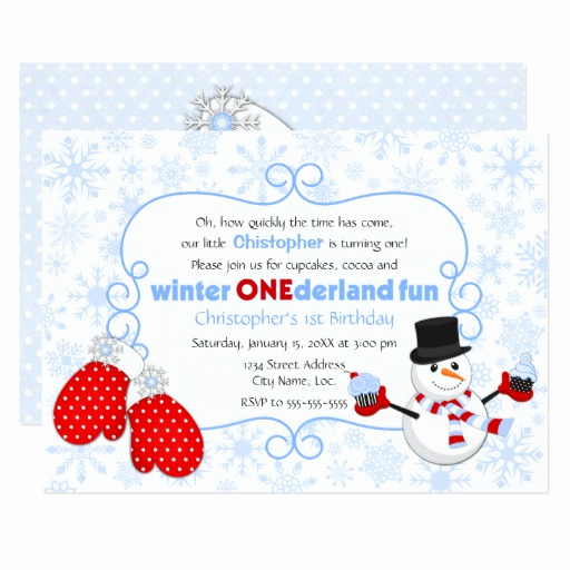 Winter One Derland Invitation Wording Inspirational Winter Onederland Birthday Invitation