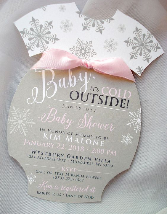 Winter Wonderland Baby Shower Invitation Beautiful Easy Ideas for An Amazing Winter Wonderland Baby Shower