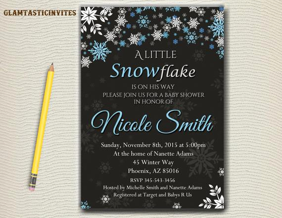 Winter Wonderland Baby Shower Invitation Beautiful Winter Baby Shower Invitation Winter Invitation Baby Shower