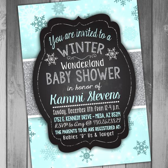 Winter Wonderland Baby Shower Invitation Luxury Baby Shower Invitation Winter Wonderland Baby Shower Winter