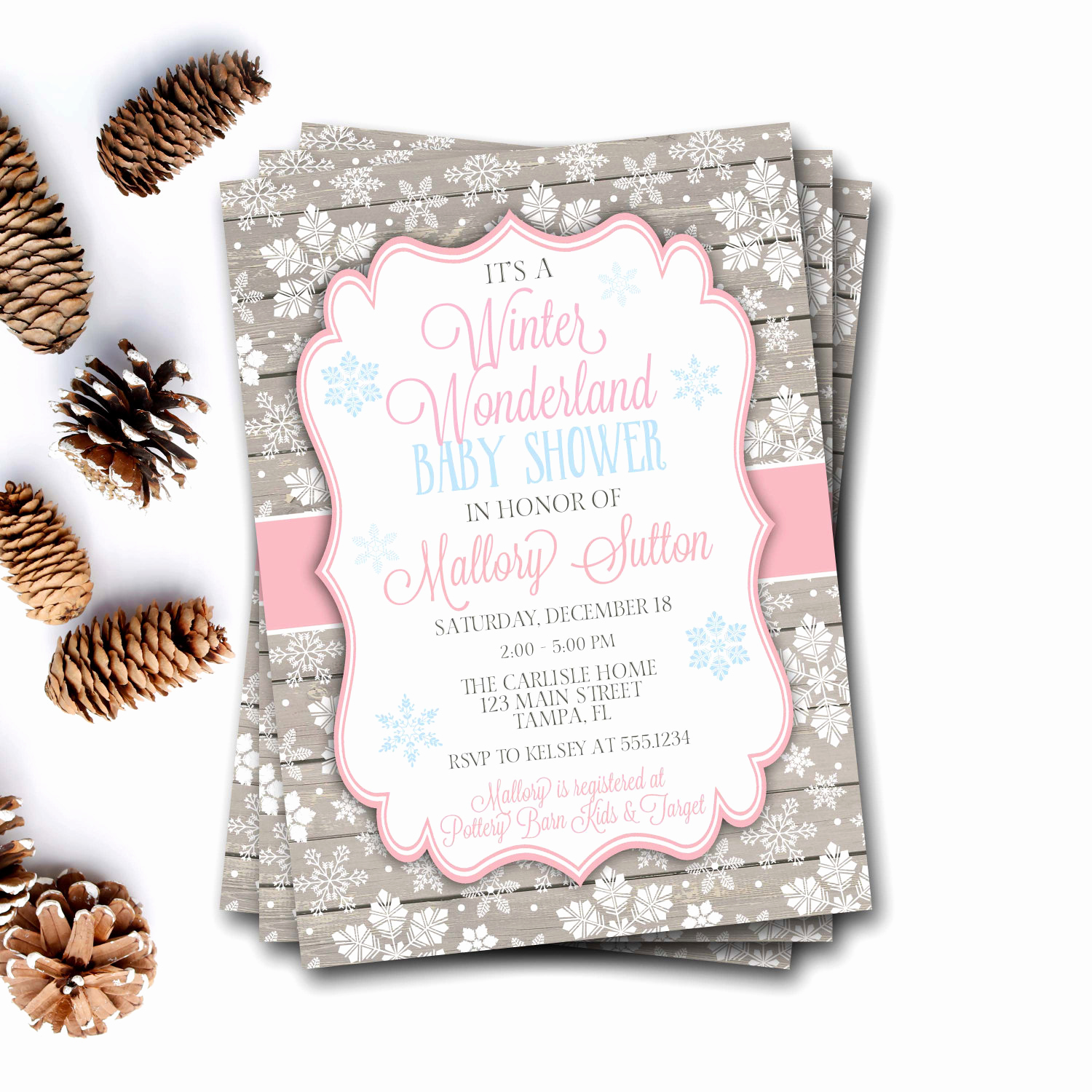 Winter Wonderland Baby Shower Invitation Luxury Winter Wonderland Baby Shower Invitation Winter Baby Shower