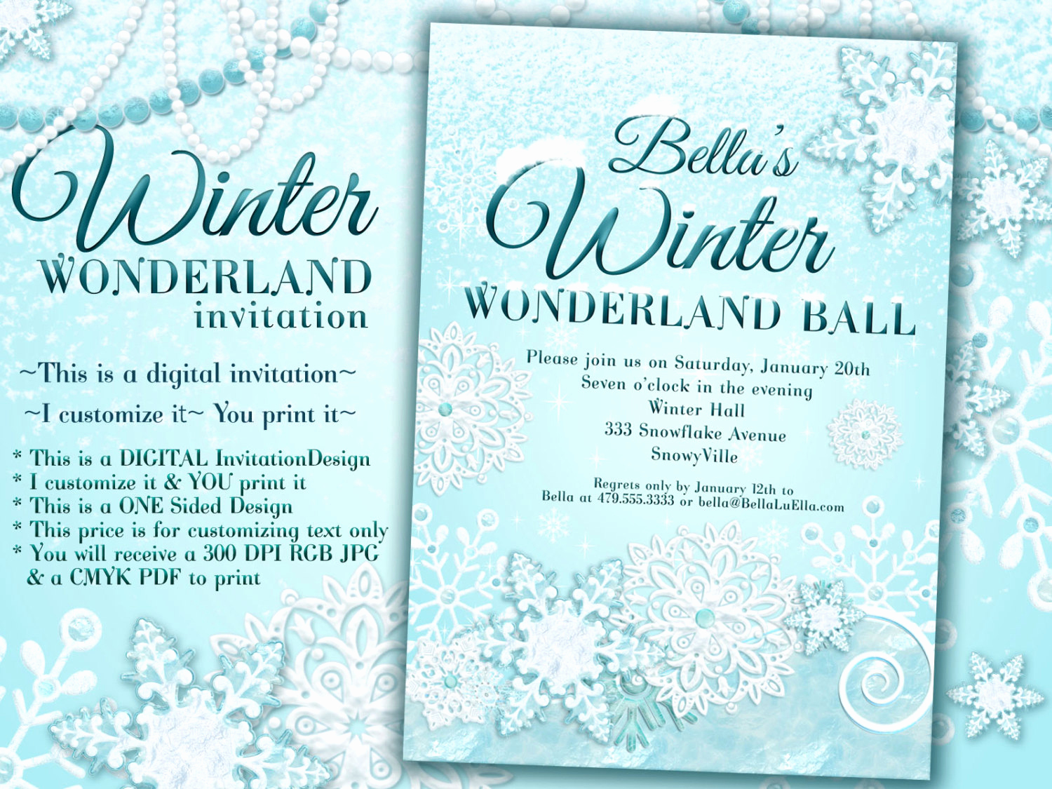Winter Wonderland Invitation Ideas Awesome Winter Wonderland Party Winter Invitation Winter Party