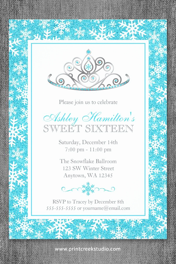 Winter Wonderland Invitation Ideas Beautiful 10 Best Images About Winter Wonderland Sweet 16 Ideas On