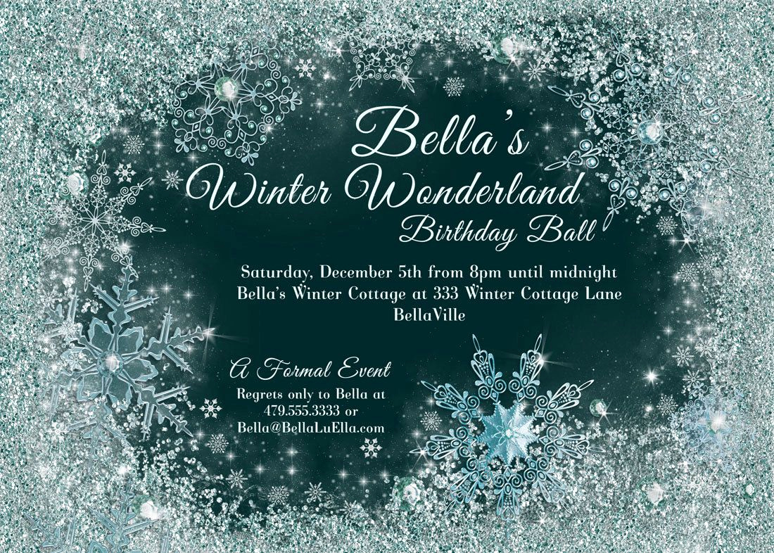 Winter Wonderland Invitation Ideas Beautiful Winter Wonderland Party Invitations Google Search