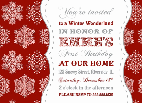Winter Wonderland Invitation Ideas Elegant 19 Best Winter Wonderland Invitation Images On Pinterest