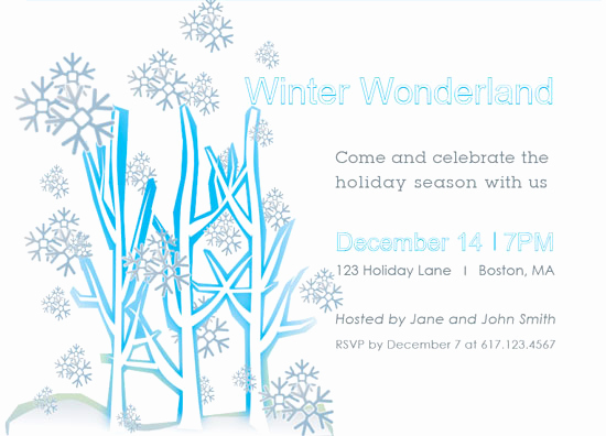 Winter Wonderland Invitation Ideas Fresh Party Invitations Winter Wonderland Party Invitations at