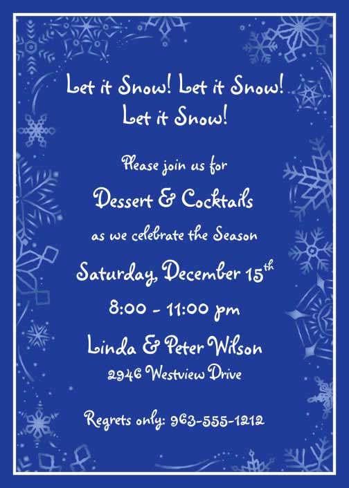 Winter Wonderland Invitation Ideas Fresh Winter theme Invitation