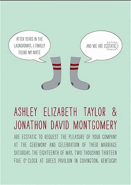 Witty Wedding Invitation Wording Unique Funny Wedding Invitation