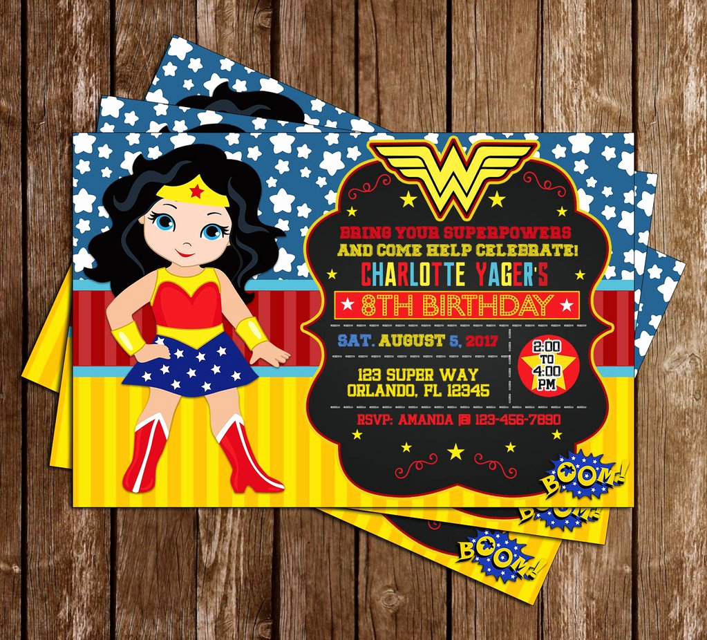 Wonder Woman Invitation Template Best Of Novel Concept Designs Wonder Woman Superhero