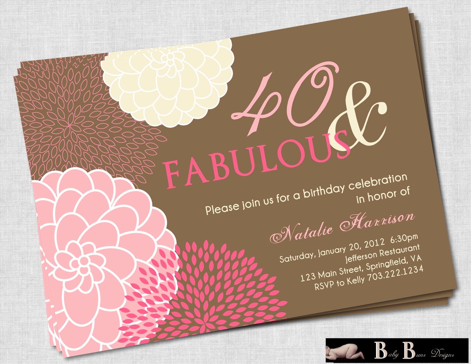 Wording for 40th Birthday Invitation New 40th Birthday Invitations for Women Free Invitation